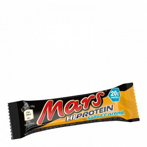 Mars  Barres protéinées Mars Hi, caramel salé - 12 barres