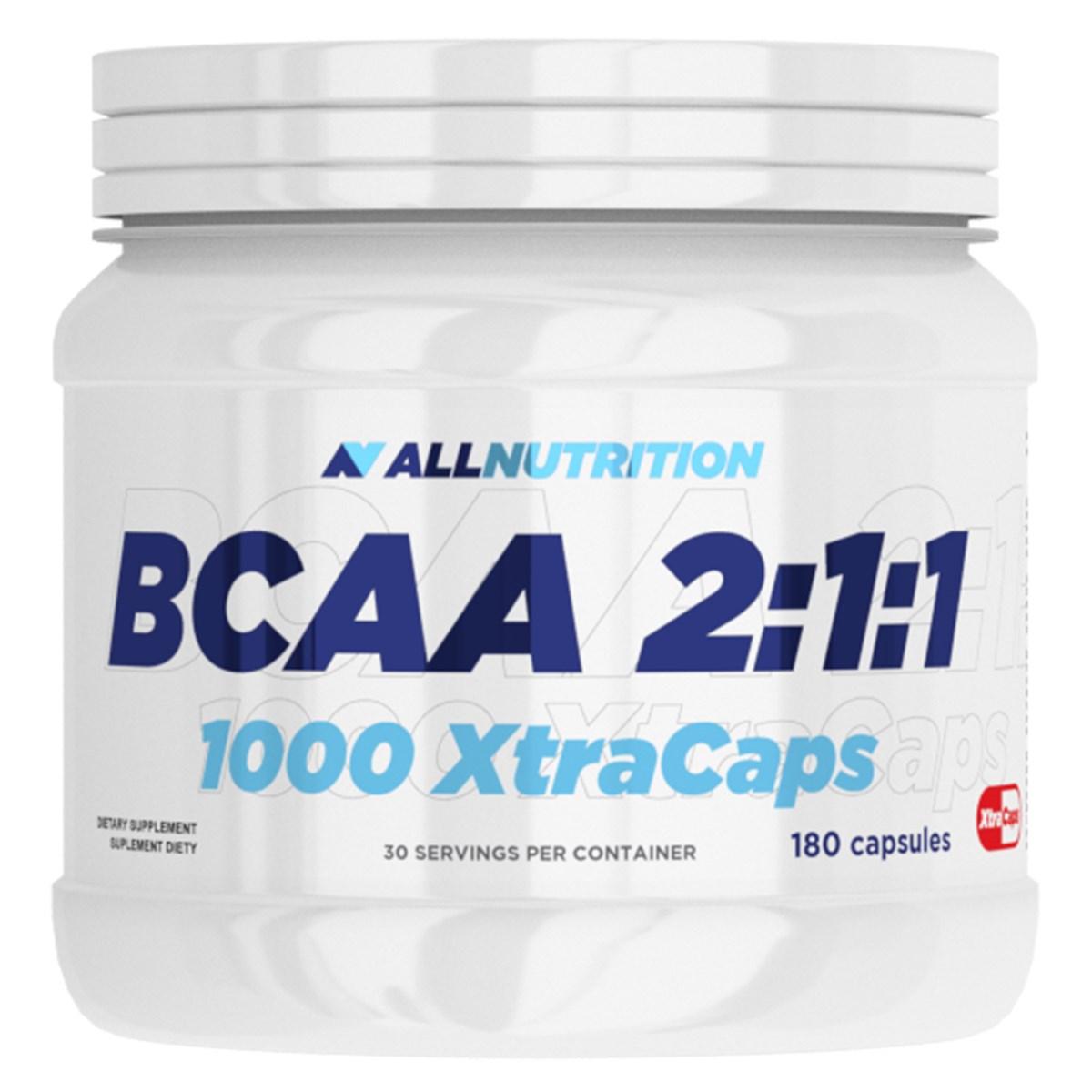 BCAA 2: 1: 1 1000 XTRACAPS