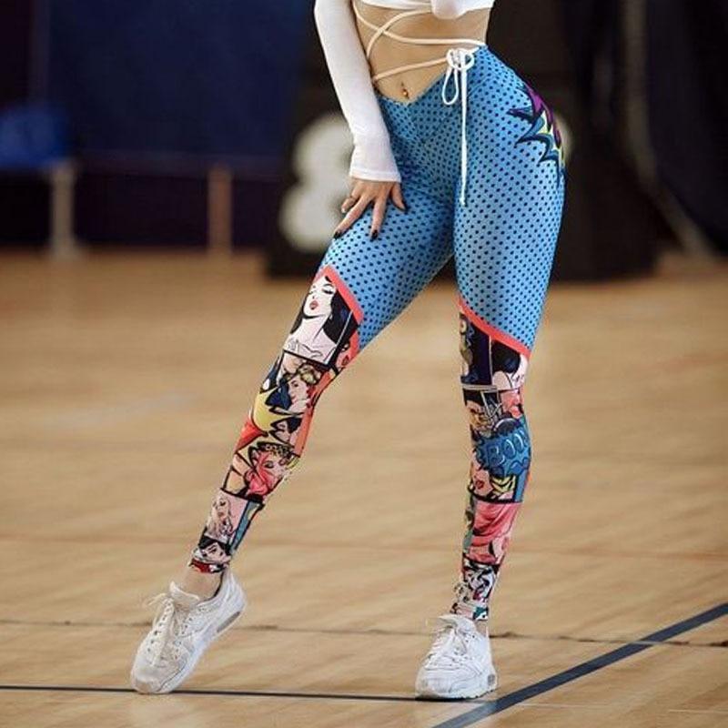 Leggings super woman