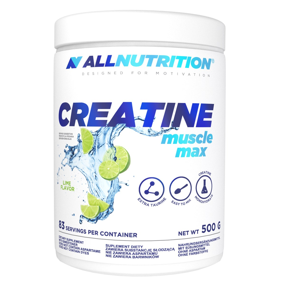 Créatine Muscle Max Allnutrition