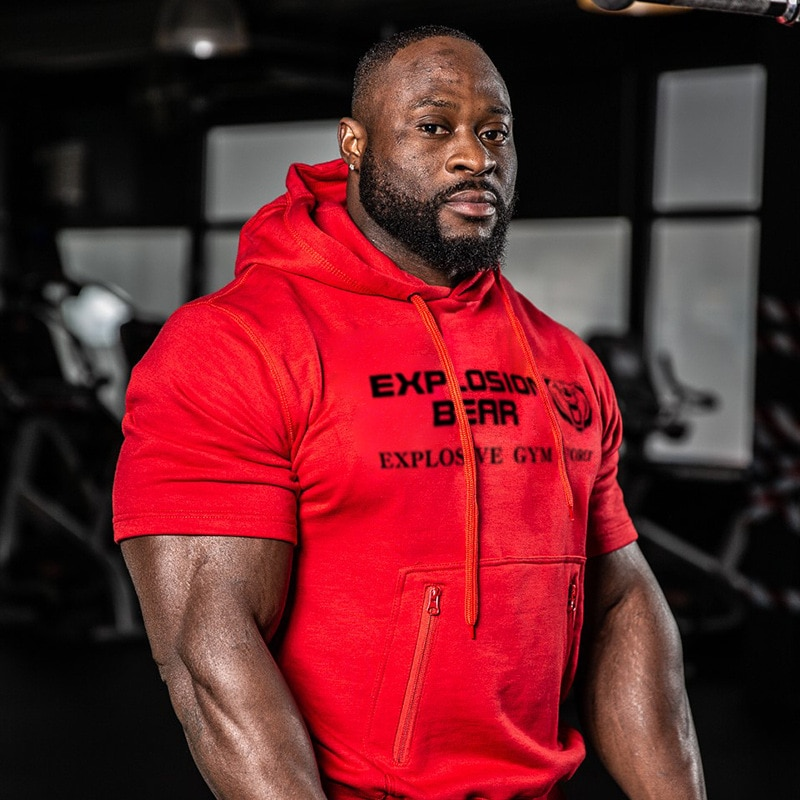 Tee-shirt à capuche Explosion Bear