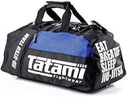 Tatami Fightwear Jiu Jitsu Gear Bag Noir et Bleu