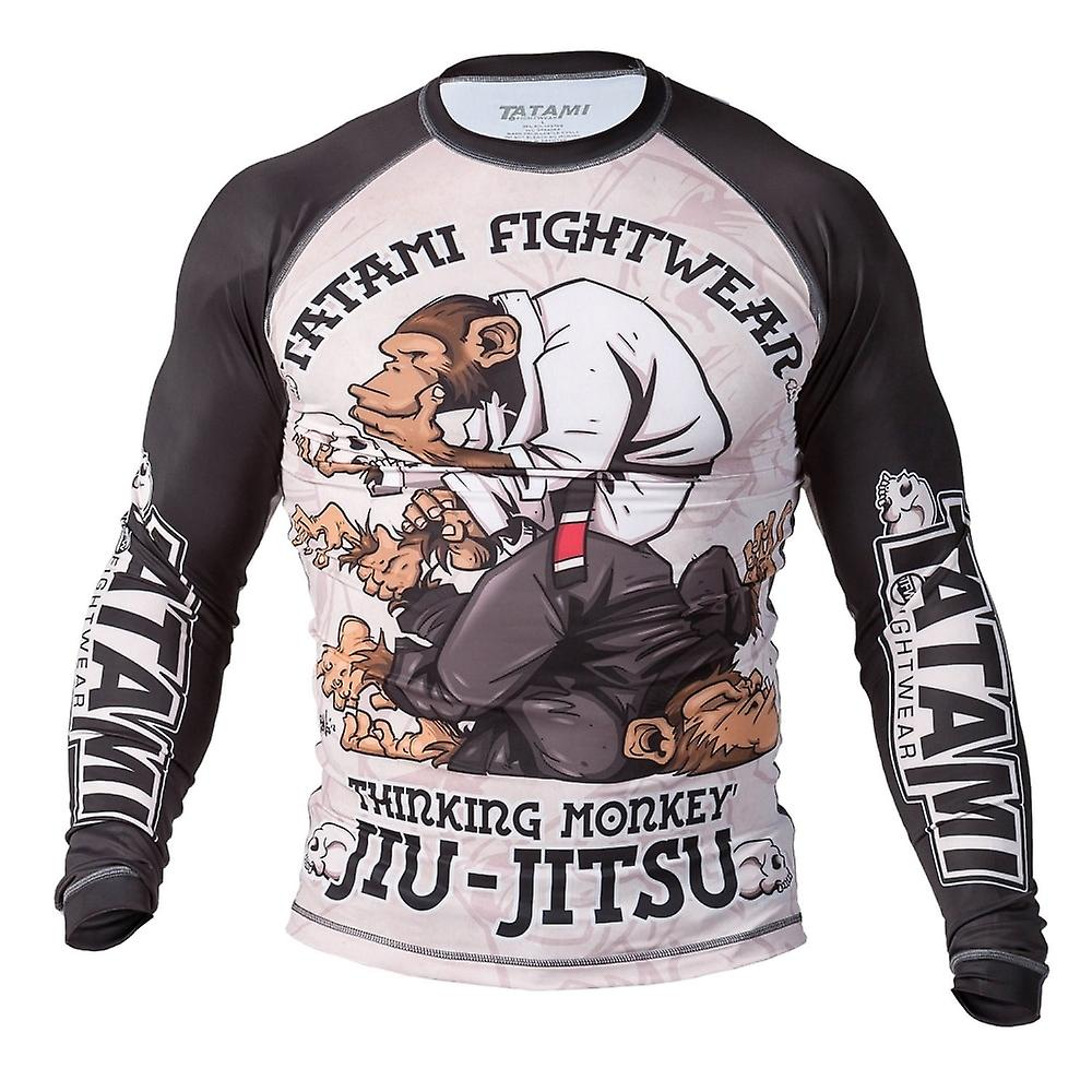 Fightwear Thinker Monkey Rash Guard Tatami