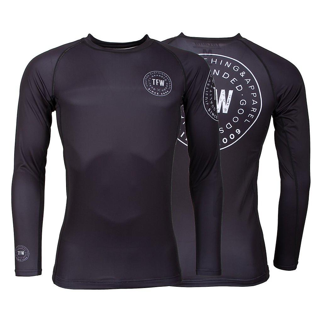 Fightwear Iconic Rash Guard Tatmi manches longues Noir