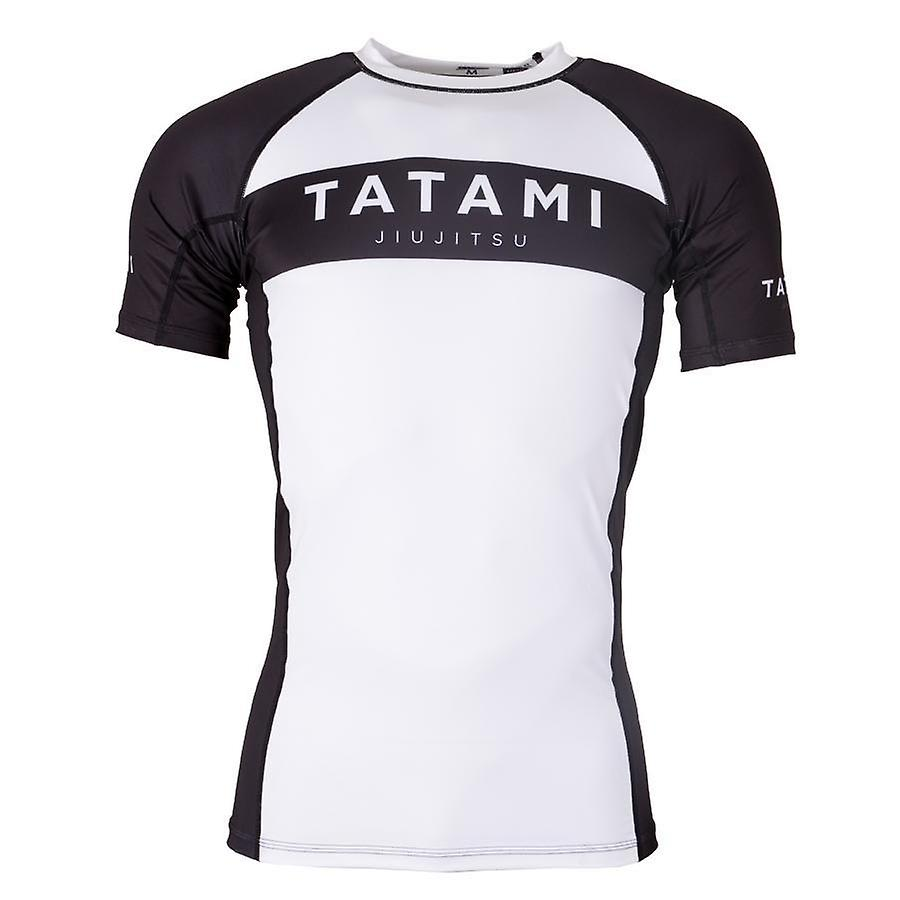 Fightwear Original Rash Guard Tatami manches courtes Noir