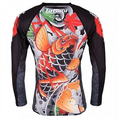 Fightwear Rash Guard à manches longues en érable Koi