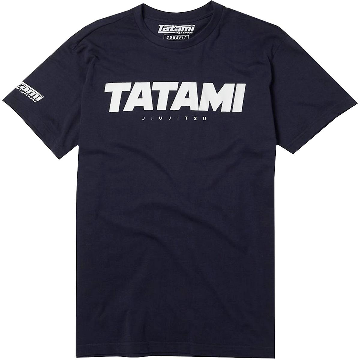 T-shirt Tatami Fightwear Shadow Collection Bleu Marine