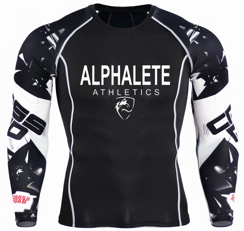 Tee-shirt manches longues de compression Alphalete