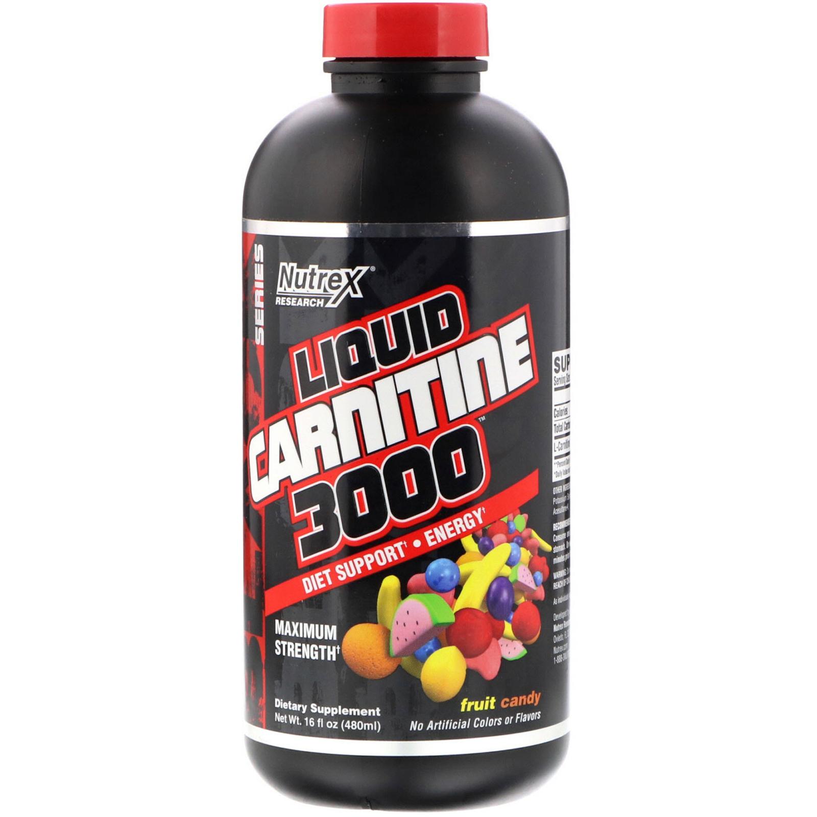 Carnitine liquide 3000 Nutrex