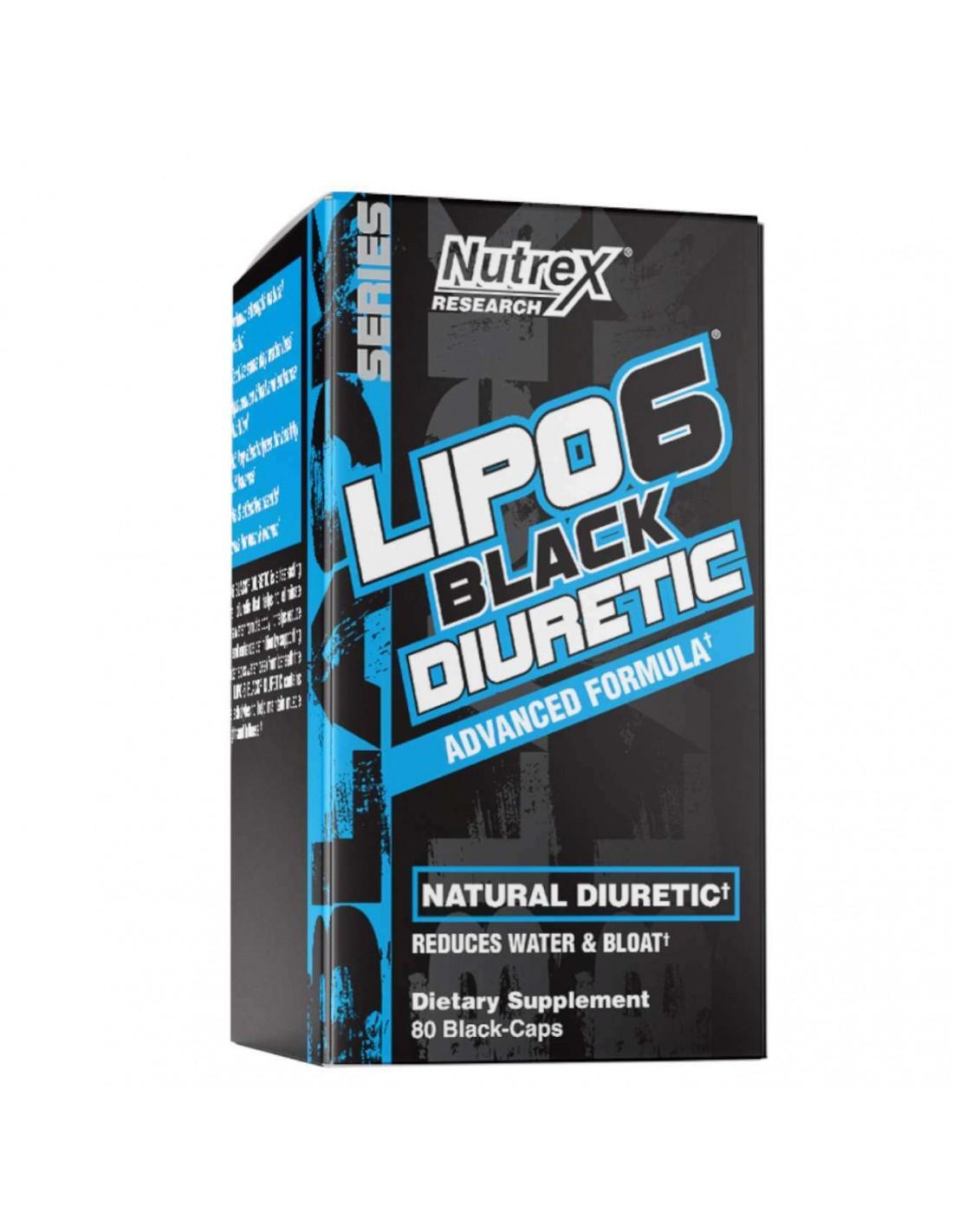 Lipo-6 Diurétique noir Nutrex