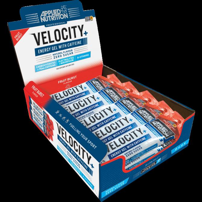 Gel Velocity + Energy à la caféine 60g