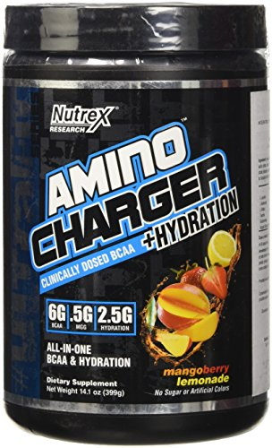 Amino Charger et Hydratation Nutrex