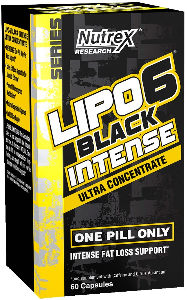 Lipo-6 Black Intense Ultra Concentré Nutrex