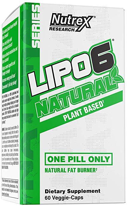 Lipo-6 Nutrex naturel à base de plantes