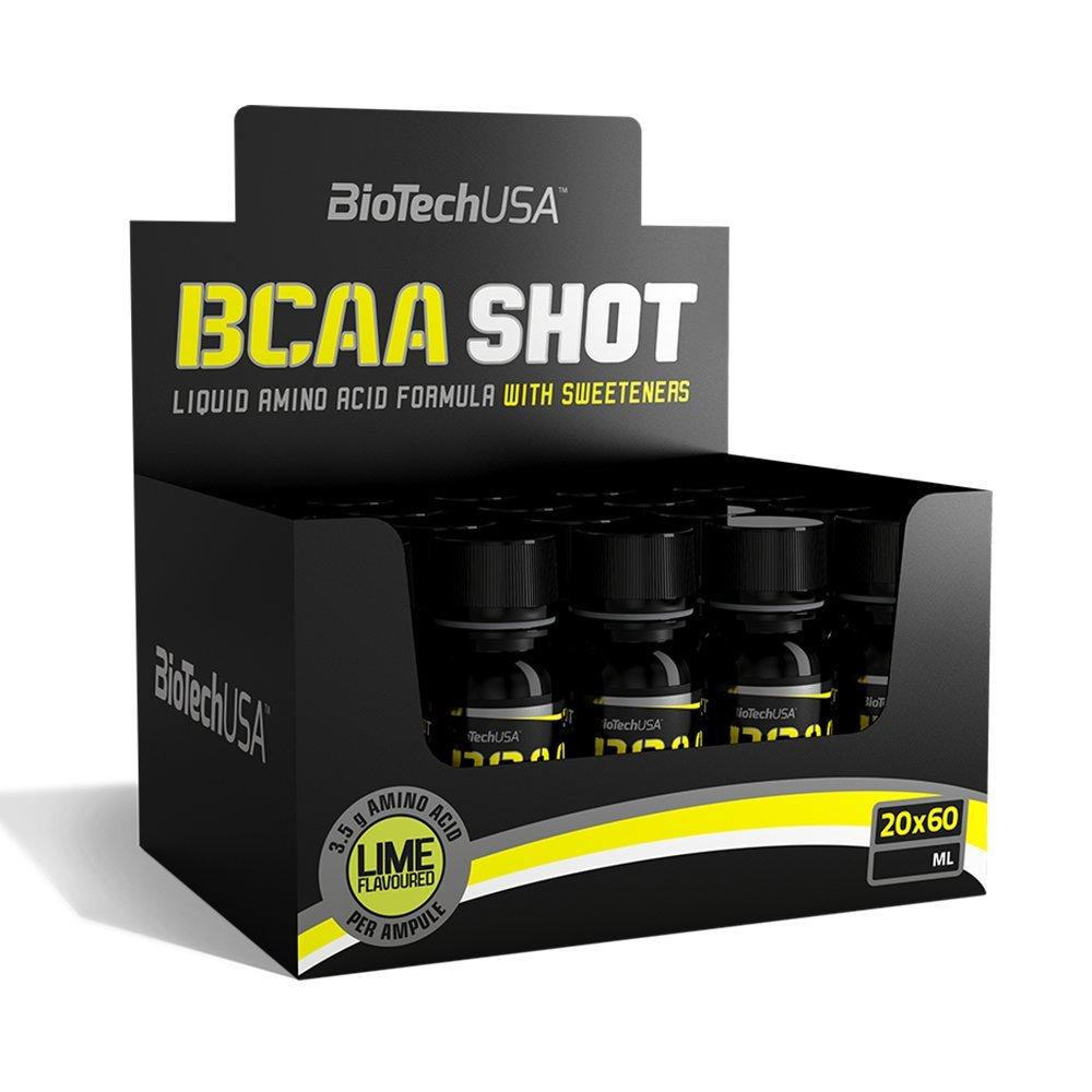 BioTechUSA  BCAA Shot citron vert