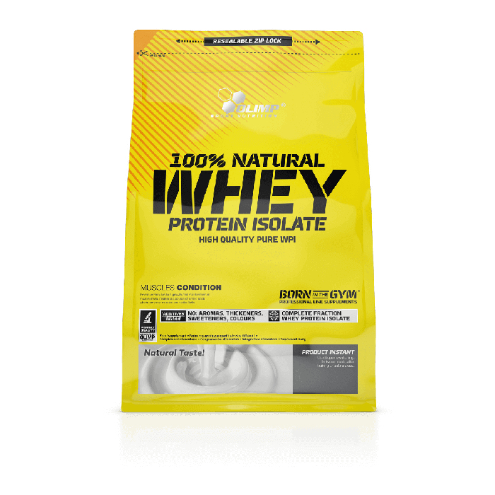 100% NATURAL WHEY PROTEIN ISOLATE OLIMP