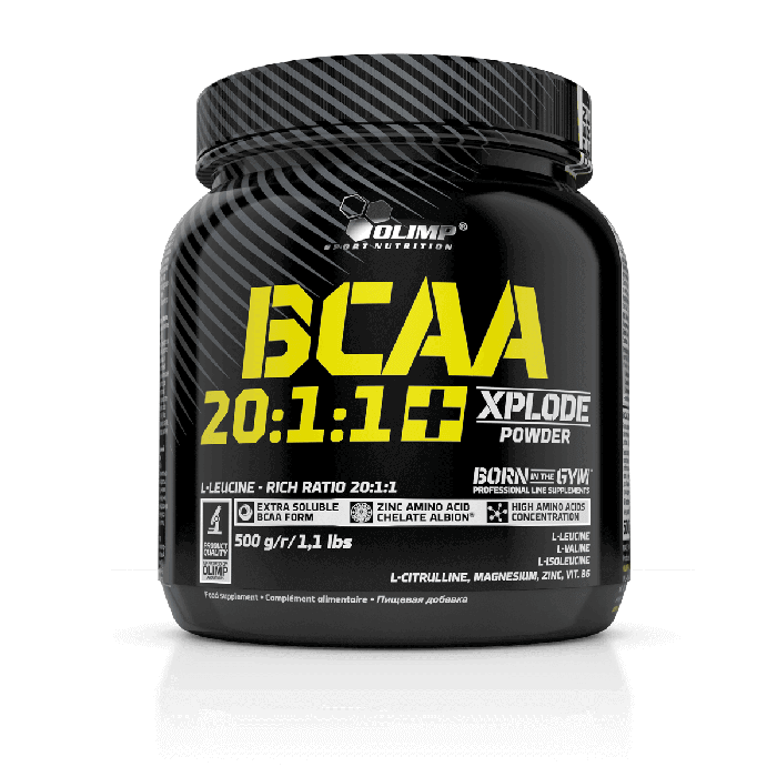 BCAA 20: 1: 1 Xplode Olimp Nutrition