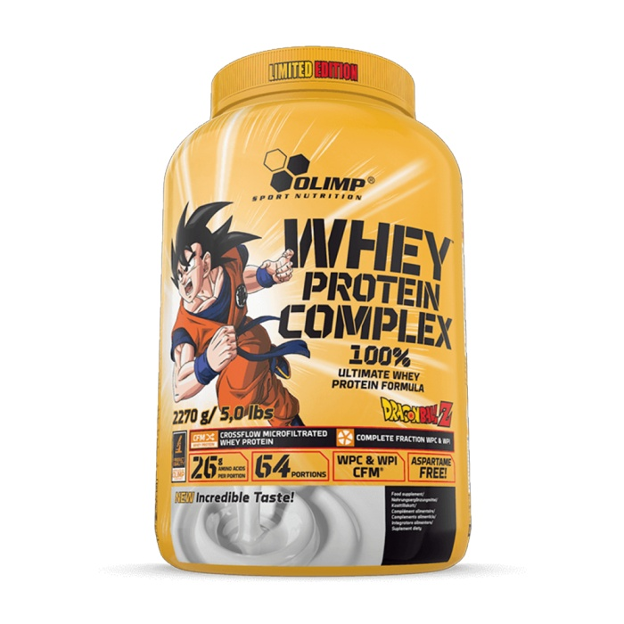 Whey Protein Complex 100 % Limited Edition Dragon Ball Z