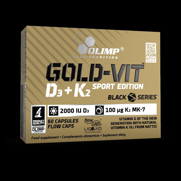 GOLD-VIT D3+K2 SPORT EDITION