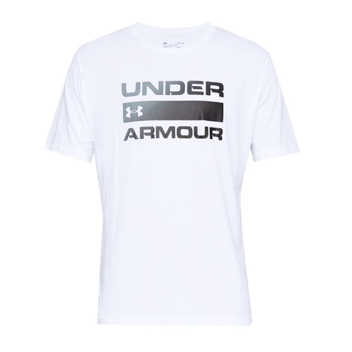 T-shirt Under Armour Team Issue Wordmark Blanc