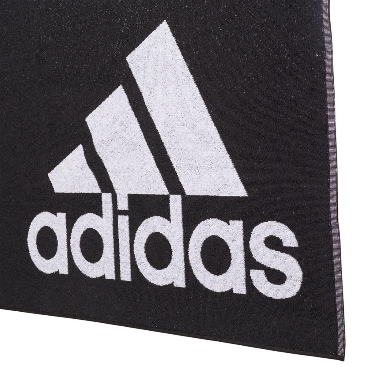 Serviette adidas grande taille Noire