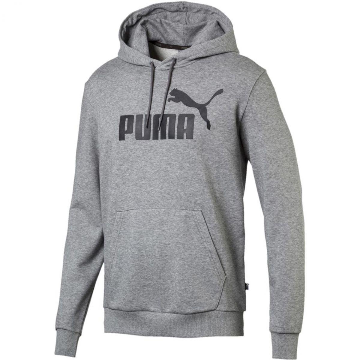 Hoodie à capuche Puma Essentials gris