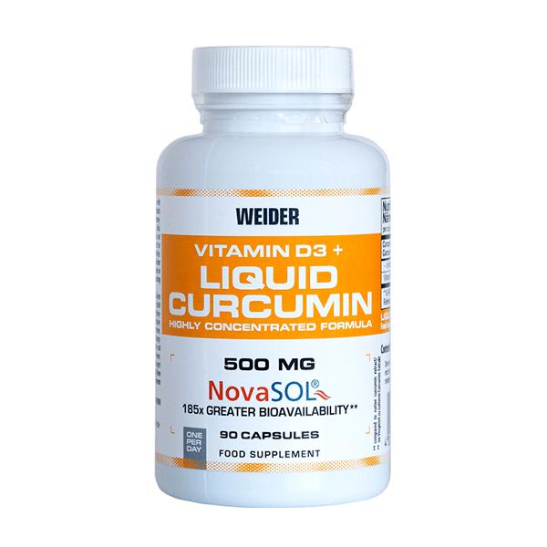 Curcumine liquide + vitamine D3