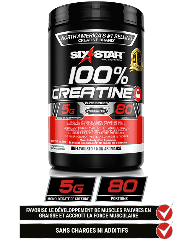 100% créatine Six Star Pro Nutrition