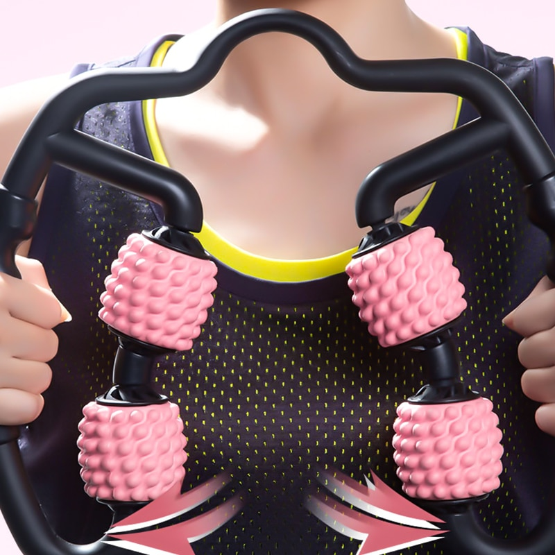 Rouleau de massage 4 roues