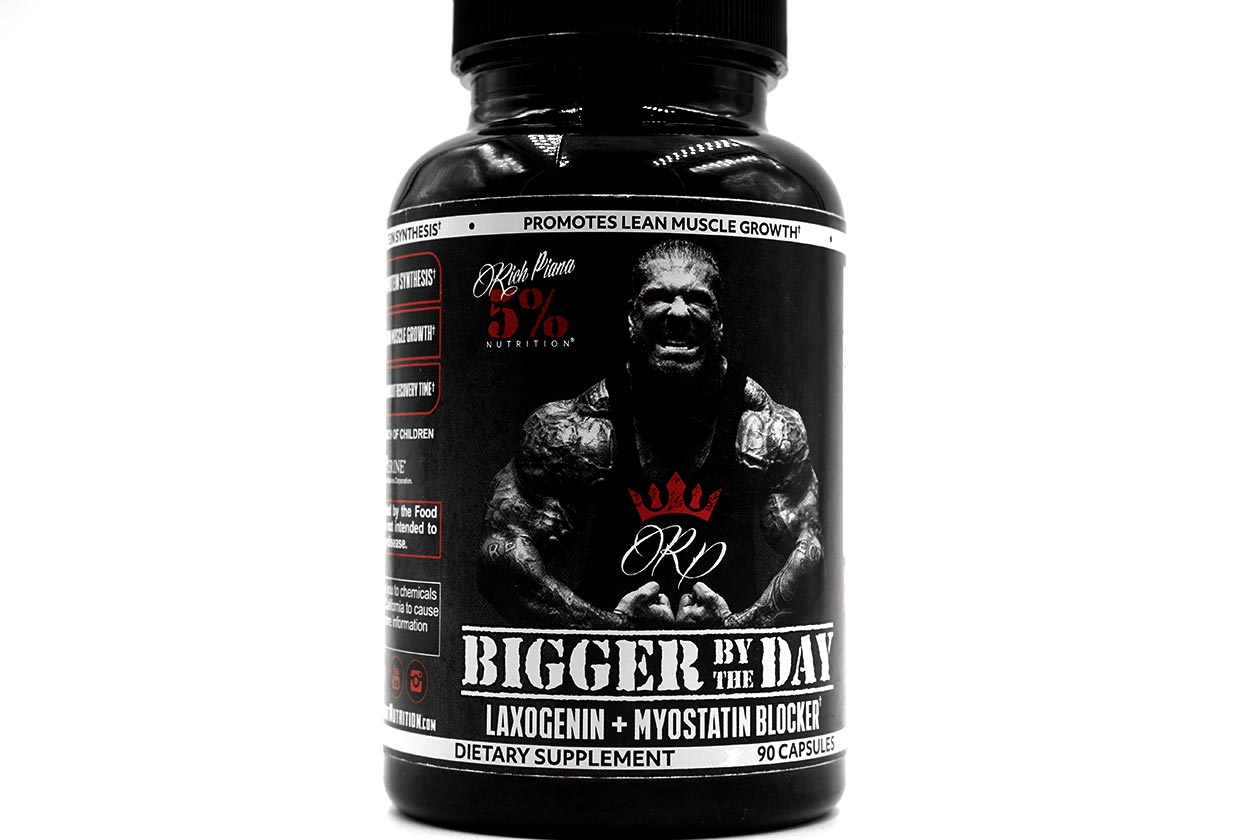 Bigger By The Day Rich Piana