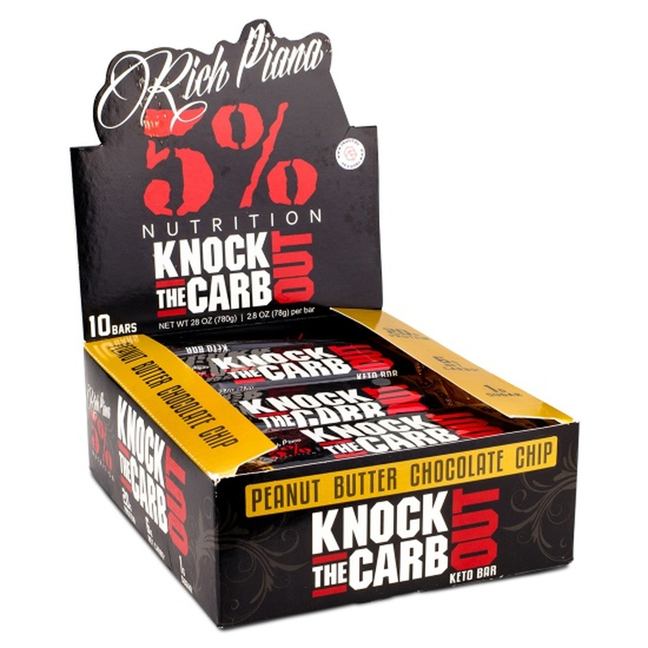 10 Barres Knock the carb out Rich Piana