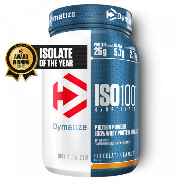 ISO-100 hydrolysé Dymatize 900G