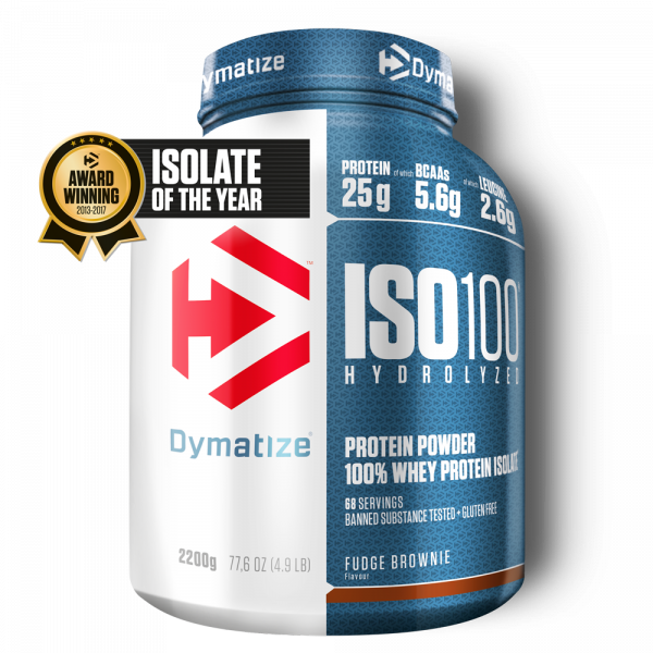 ISO-100 hydrolysé Dymatize 2200G