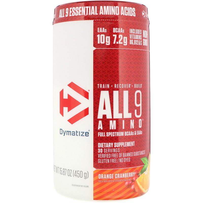 Les 9 Amino Dymatize 450 G
