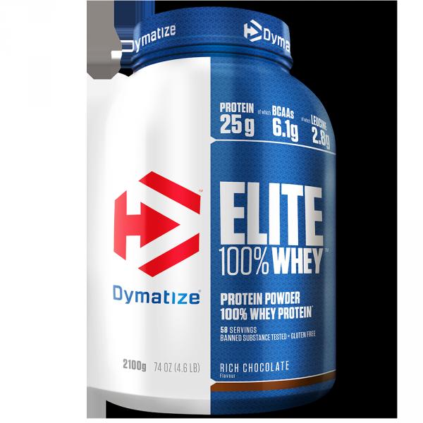 Elite 100% Whey Protein Dymatize 2200G