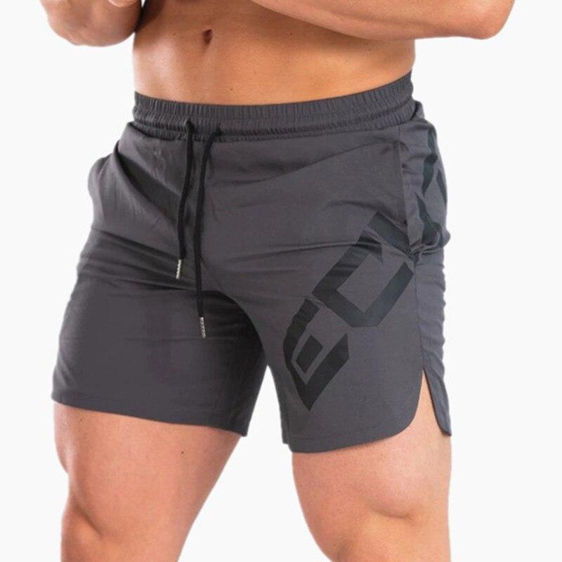 Short fitness ECHT floqué