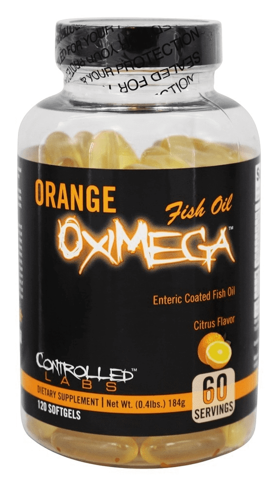 Orange OxiMega Fish Oil Controlled Labs
