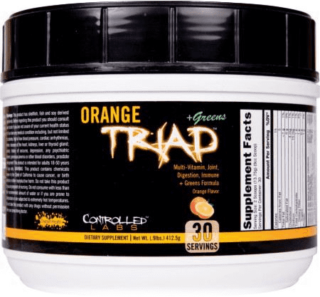 Orange Triad + Greens Controlled Labs