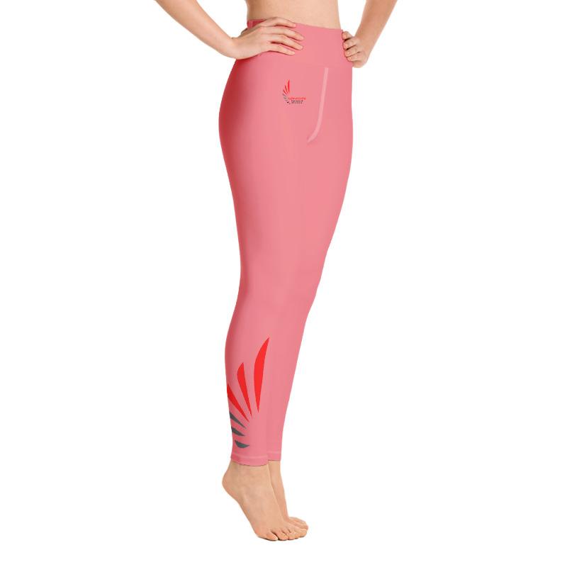 Leggings fitness pink 2 ALLSTAR