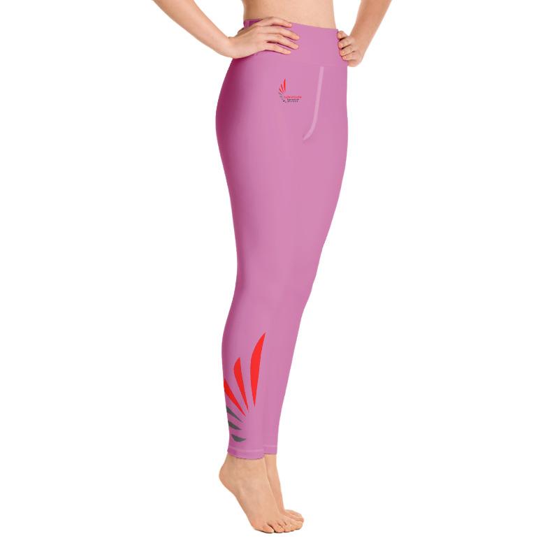 Leggings fitness pink 1 ALLSTAR