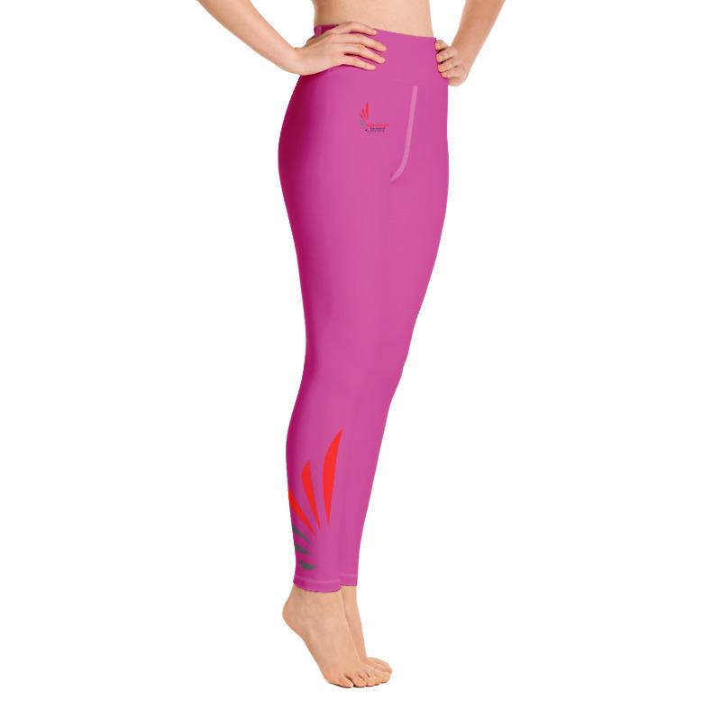 Leggings fitness pink 5 ALLSTAR