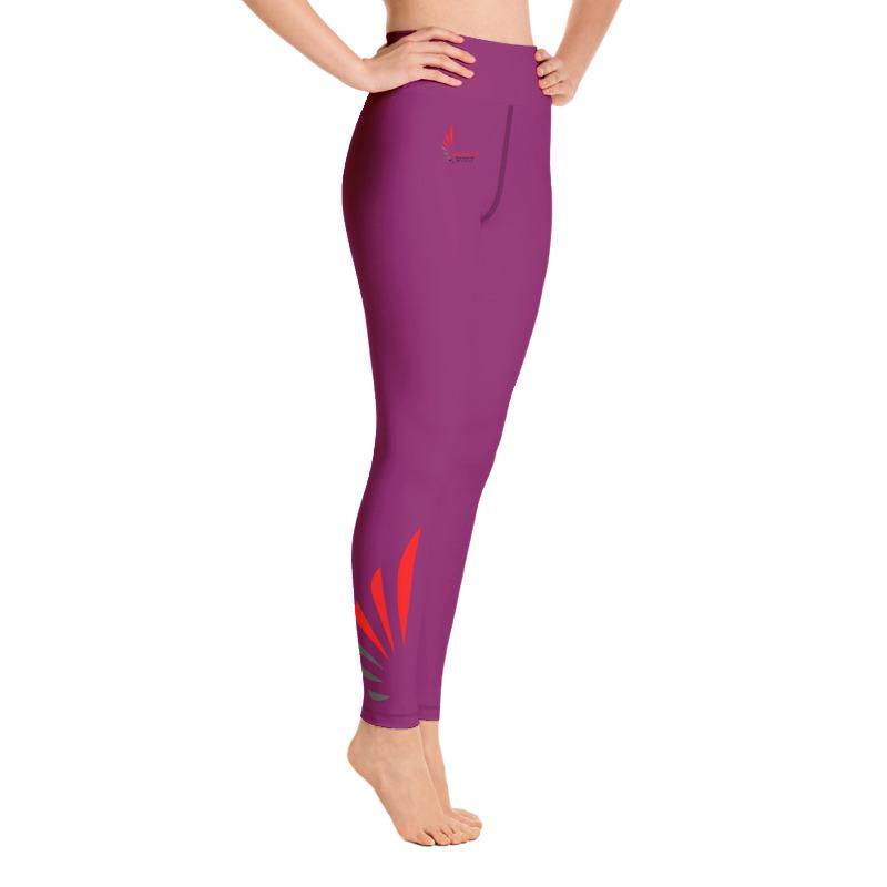Leggings fitness pink 6 ALLSTAR