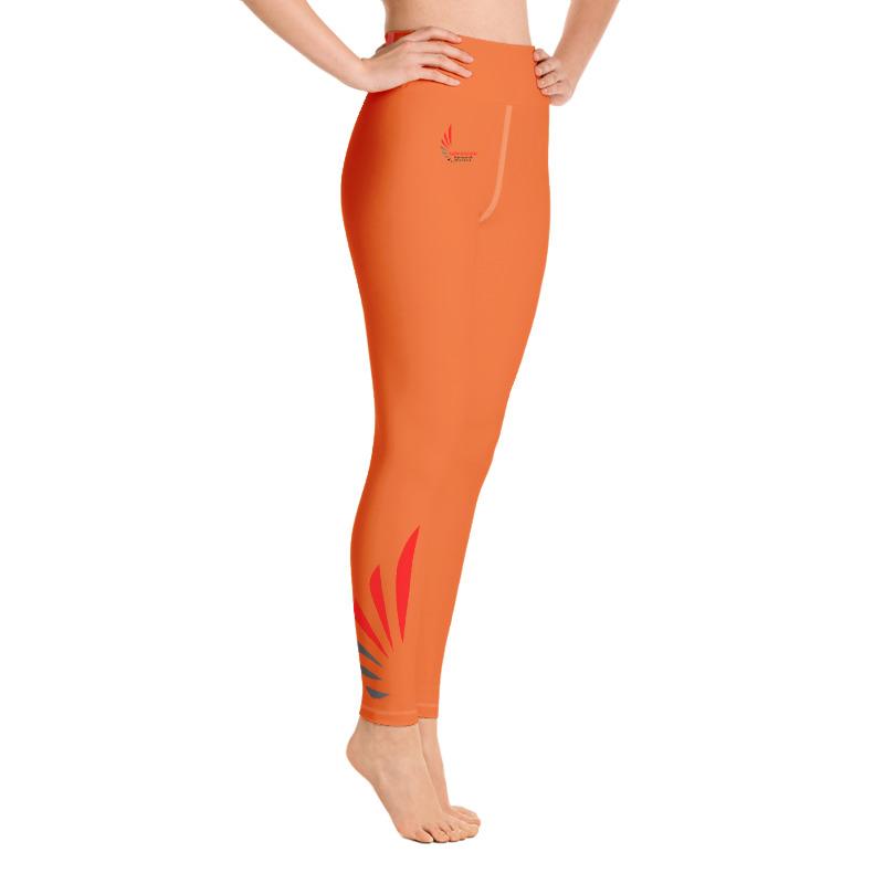 Leggings fitness orange ALLSTAR