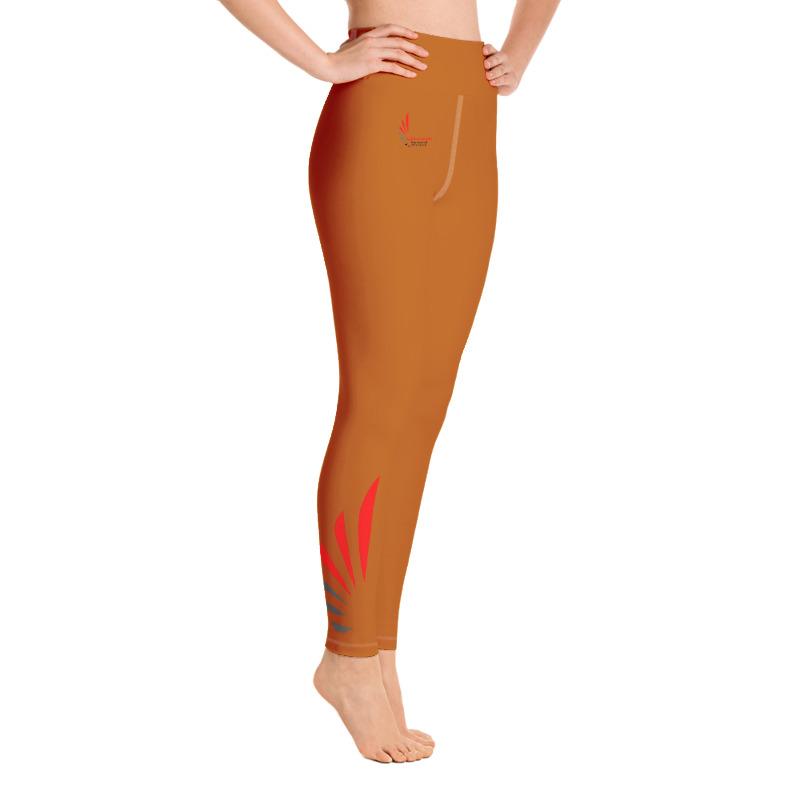 Leggings fitness brown 1 ALLSTAR