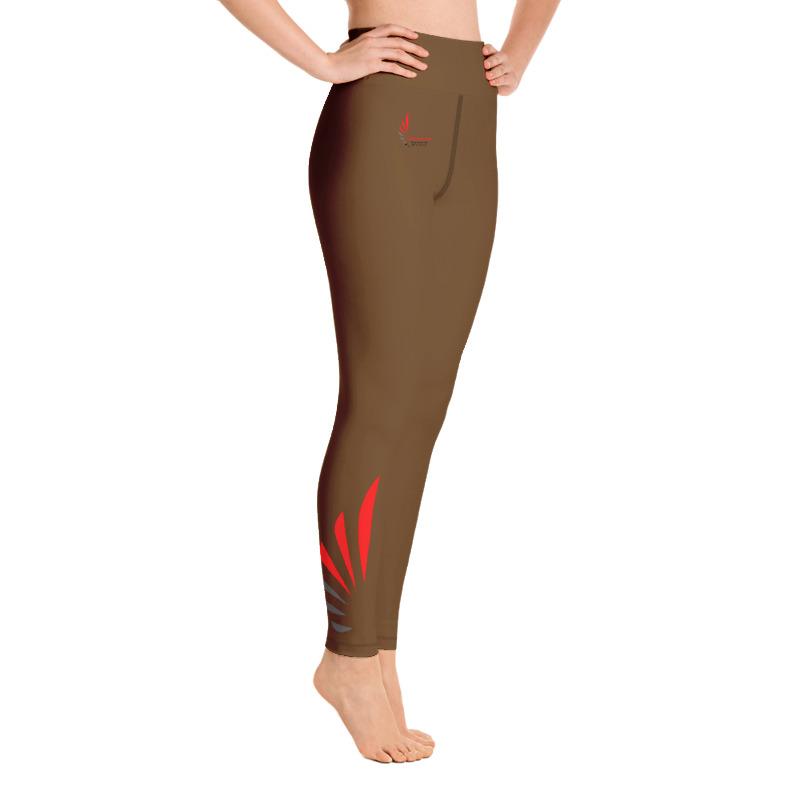 Leggings fitness brown ALLSTAR