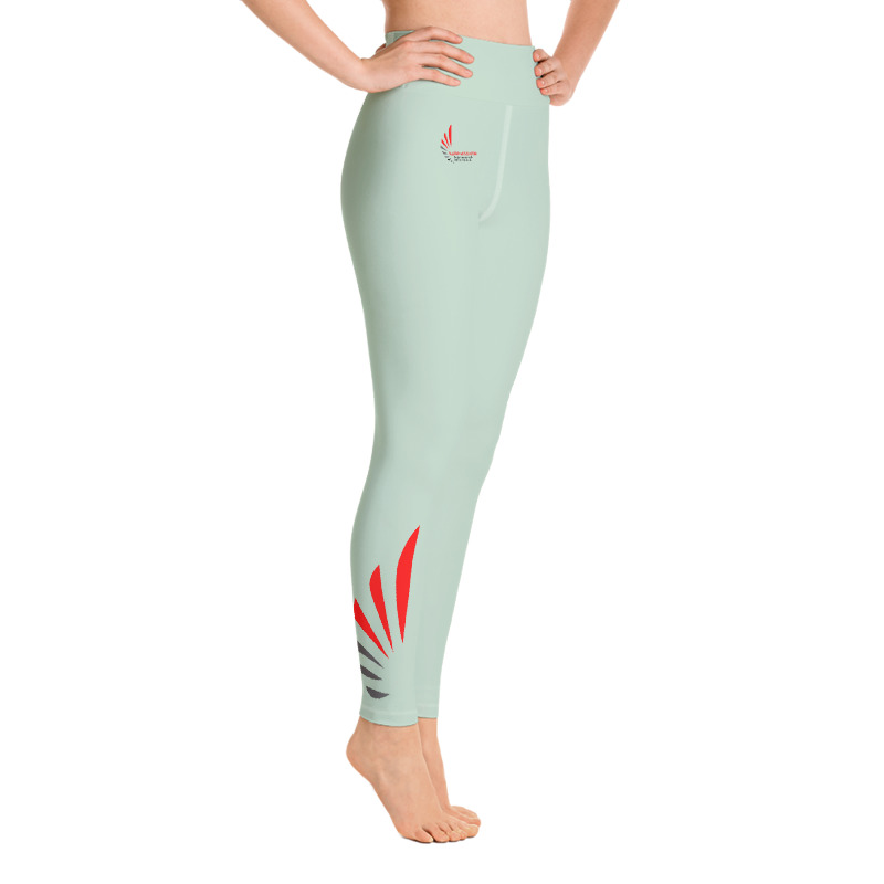 Leggings fitness green 5 ALLSTAR