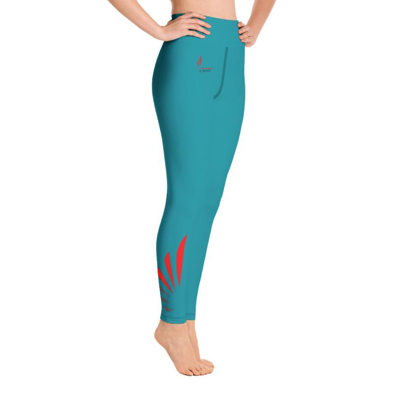 Leggings fitness blue 3 ALLSTAR