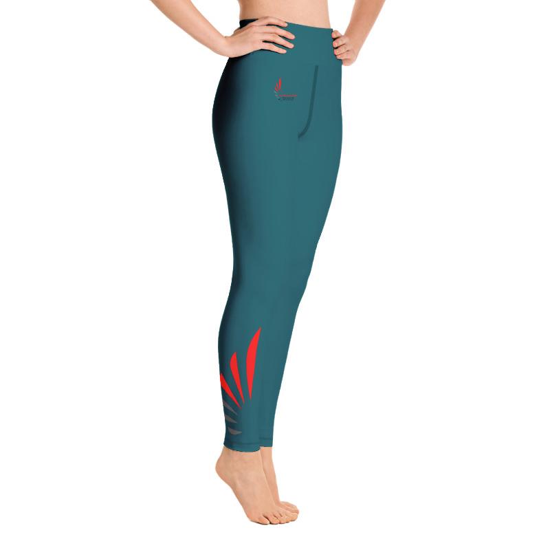 Leggings fitness blue 4 ALLSTAR