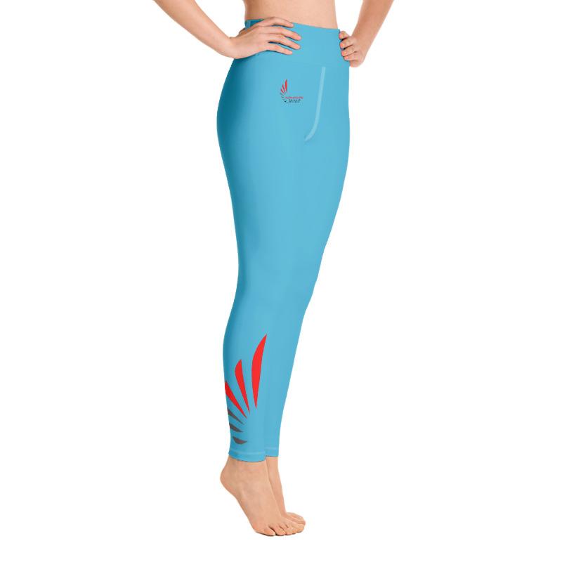 Leggings fitness blue 7 ALLSTAR