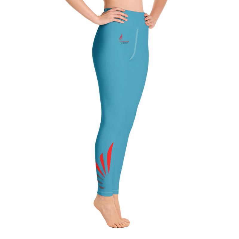 Leggings fitness blue  ALLSTAR